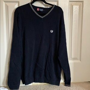 Chaps men's navy sweater
